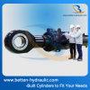 Cilindro hidráulico estándar resistente para el vehículo de la construcción