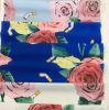 Tela impressa flor do poliéster da alta qualidade para matérias têxteis da HOME do vestido