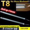 밖으로 저축 Electricity Cost LED T8 Tube Rechargeable No More Black!