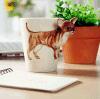 O Teacup cerâmico 3D da melhor qualidade refrigera a caneca de café com barato