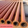 Rivestimento interno resistente all'uso di ceramica della conduttura dell'allumina