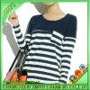 2014 outono Trend com Women Casual Stripe Tee (personalizar)