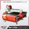 Grabado de madera del CNC que talla la cortadora con el eje de rotación refrigerado por agua