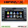 KIA Cerato (HM-8923G)のためのMHifimax車DVD GPSのナビゲーション・システム印刷された綿の円形の首のTシャツ