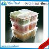 Il certificato BPA libera il formato trasparente Gastronorm GN della plastica 1/4 fa una panoramica del coperchio