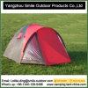 Fördernde Polyester 190t PU, die im Freien kampierendes Zelt faltet