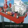 Создатель масштабной модели машины модели установки бурения в море (BM-0604)