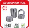 Cinta de aislamiento reforzada lienzo ligero del papel de aluminio del conducto flexible