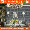 papel pintado impermeable del PVC del ladrillo 2016 3D para la decoración casera