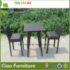 Outdoor di qualità superiore Furniture Wicker/Rattan Bar Table e Chair