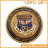 Doppelte seitliche Metallmünze für Jahrestag (YB-c-008)