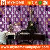 Papier de mur lavable de vinyle de PVC avec le modèle coloré (YS-191005)
