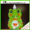 Bottiglia di acqua di plastica pieghevole personalizzata con l'anello dell'acciaio inossidabile (Ep-B125516)