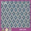 Textile de tissu de lacet de coton tricoté par vente chaude