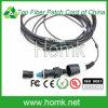 Corde de pièce rapportée extérieure de fibre Pdlc