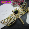 Wholesale (5945)를 위한 형식 Elegant Lady Silver Plated Butterfly Brooch