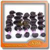 Brasileiro de tecelagem frouxo trama do cabelo de 100 por cento