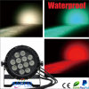 IP65 LED 12PCS Rgbwauv Waterproof PAR Can Light