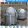 Protezioni della testa di emisfero dell'acciaio inossidabile con la certificazione di ASME