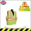 Vêtements r3fléchissants de chaussée de sûreté du travail de route LED pour des hommes de police