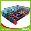 Grand parc de trempoline de gymnastique chaude de la vente 2015, trempoline olympique