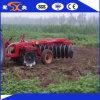 Herse de disque rotatoire de terres cultivables avec 18 disques