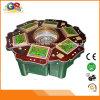 6 Spieler-Kasino-Roulette-Tabellen-Rad-Maschinen-Roulette-Kasino