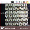 Color Mixed Glass Mosaic Decorative Mosaic Tile per Project
