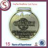 Золотистый металл спорта медальона талрепа для сувенира