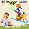 PVC Material Education Toy para Kids Plastic Building Blocks