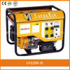 エジプトのためのLonfa 2kw Electric Home Use Petrol Generator