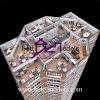 AußenTower Building Model mit Internal Details (BM-0035)
