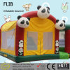 KidのためのおかしいTheme Park Panda Inflatable Bouncer Games