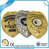 カスタム形かロゴの金属のエナメルの警察は記章を付ける