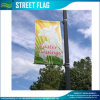 Haltbare kundenspezifische Markierungsfahnen, Markierungsfahne bekanntmachend, Straßen-Fahne (J-NF02F06022)