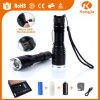 Rechargeable 18650 or AAA Battery Zoom lensable Torch Light Baton