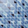 Reticoli di ceramica delle mattonelle del triangolo del mosaico della piscina della stanza da bagno da vendere