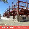 El profesional diseñó la estructura de acero industrial prefabricada del bajo costo para el almacén