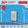 Gel della batteria 2V200ah di Opzv per l'impianto di ad energia solare