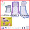 Superguter Lieferanten-hohe saugfähige Baumwollgesundheitliche Serviette des weiche-285mm China