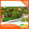 Juego de interior plástico divertido del laberinto del patio del tema del parque zoológico para los niños