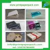 Mode faite sur commande gravant le cadre de empaquetage de cadeau de cadre de papier de bijou de cadre de cheveu cosmétique rigide de cadre