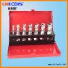 profondeur de 25mm 6 bits de foret de faisceau de l'emballage HSS de PCS