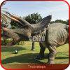 Dinosaurio móvil animado Triceratops Animatronic Dino