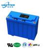 Bateria acidificada ao chumbo selada da longa vida 12V 30ah LiFePO4 bateria solar para a potência do painel solar