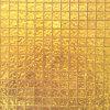 24k 실제적인 금 모자이크 타일, 확실한 100%