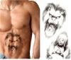 Autoadesivo provvisorio impermeabile del tatuaggio di disegno del totem del leone
