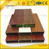 Marco de aluminio de grano de madera para muebles con perfiles de extrusión de aluminio