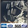 Fibra de alta resistencia del polipropileno de la fibra de los PP de la red para el refuerzo concreto