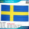 Изготовленный на заказ материальный флаг Швеции (NF05F09083)